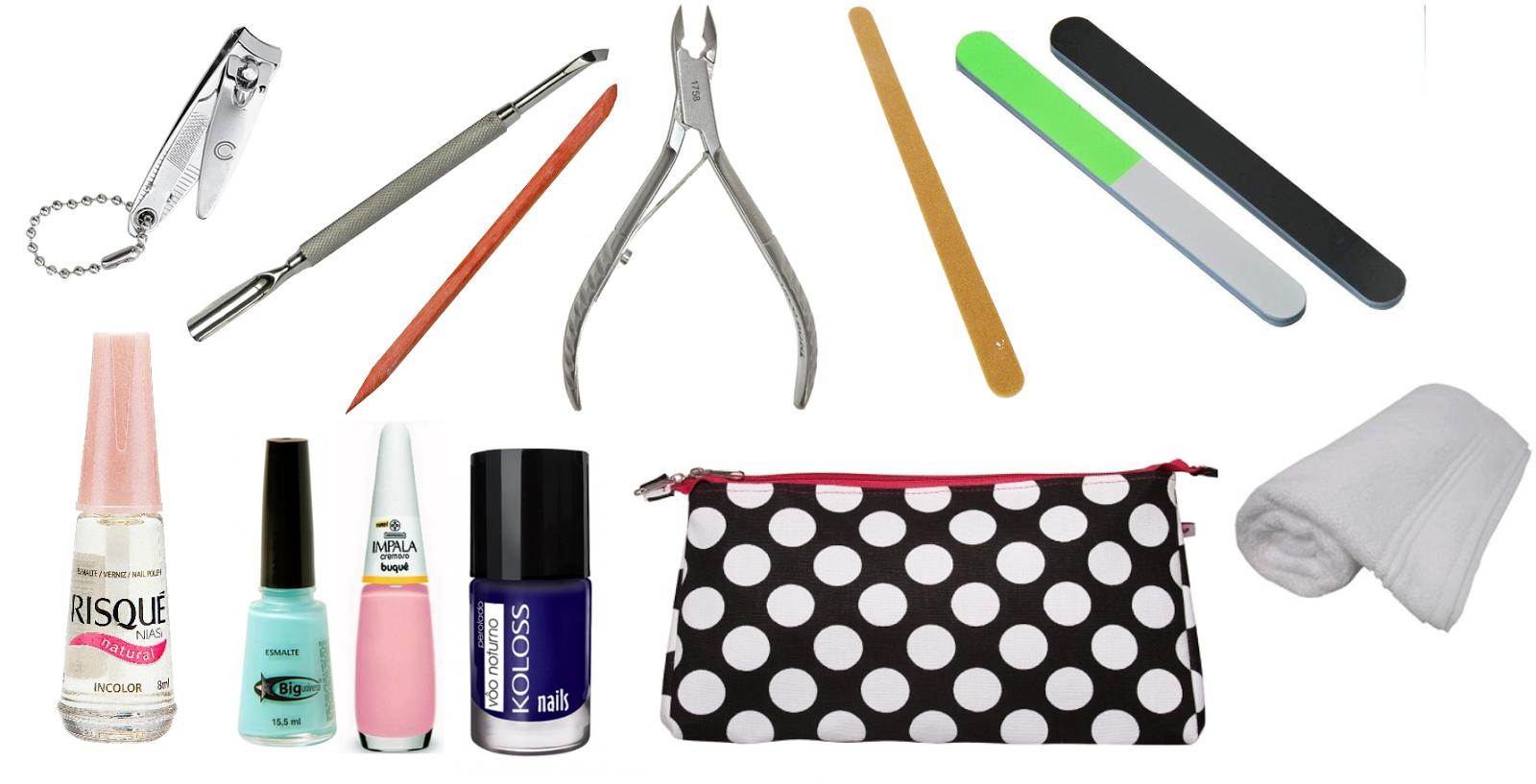 Resultado de imagem para leve seu kit manicure