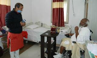श्री मोहनखेड़ा महातीर्थ में श्री ओम सकलेचा, केबिनेट मंत्री का हुआ आगमन