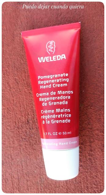 Crema de granada de Weleda
