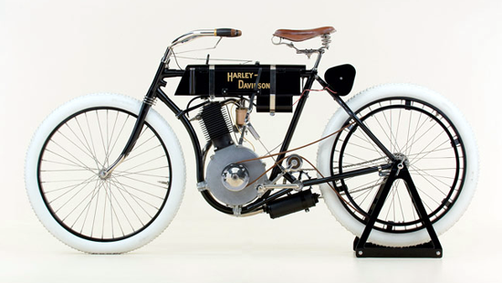 First Versions: Harley-Davidson: 1st model ever