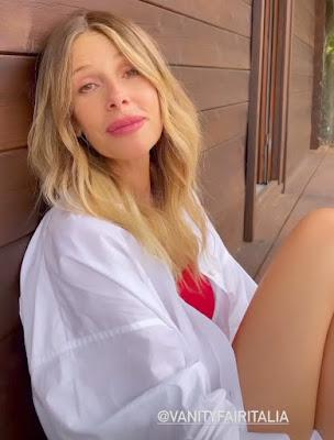 Alessia Marcuzzi foto Instagram Vanity Fair Italia intervista