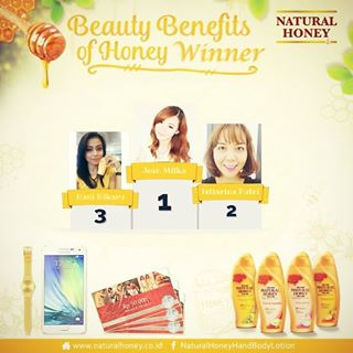 3rd Winner of Natural Honey Blog Competition
