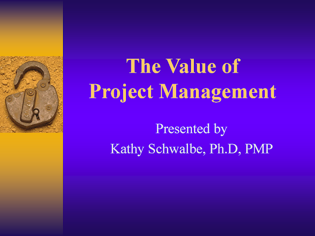 Download The Value of Project Management