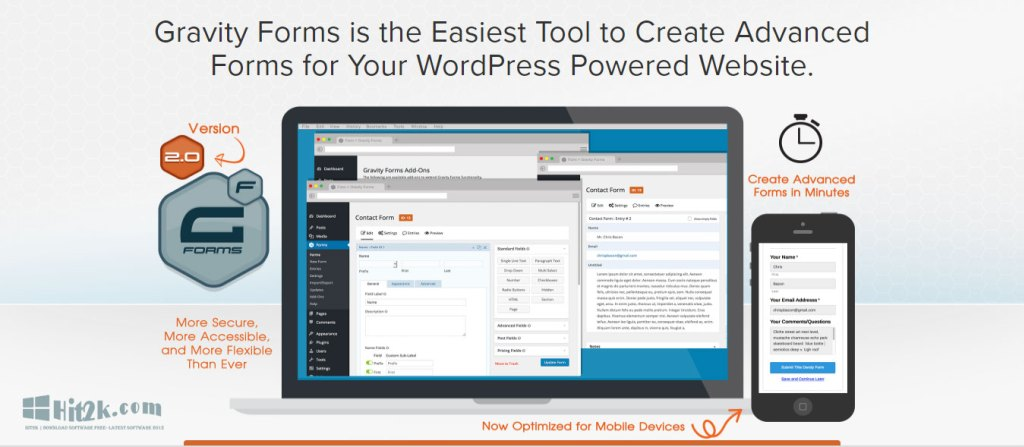 Gravity Forms 2.0.0.3 Create a WordPress Powered Website