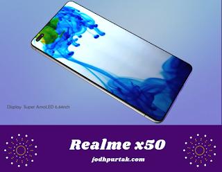 Realme x 50