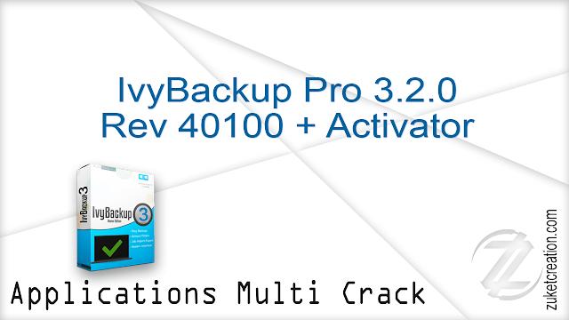 IvyBackup Pro 3.2.0 Rev 40100 + Activator