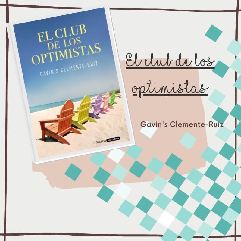Cartel de cubierta de reseña El Club de los Optimistas