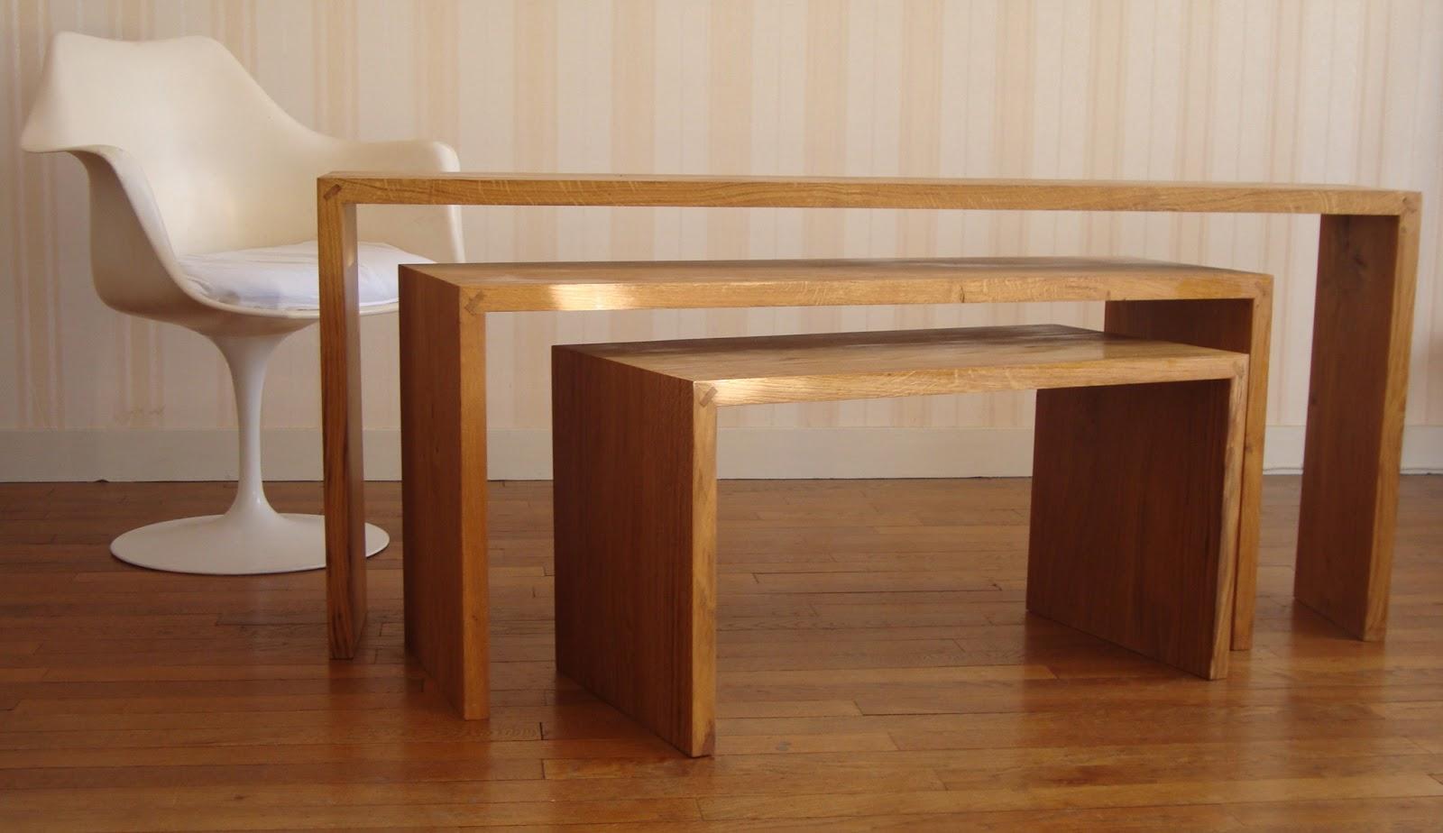 emmanuel sarazin table gigogne. Black Bedroom Furniture Sets. Home Design Ideas