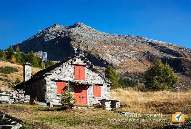 Baita all'alpe di Paione
