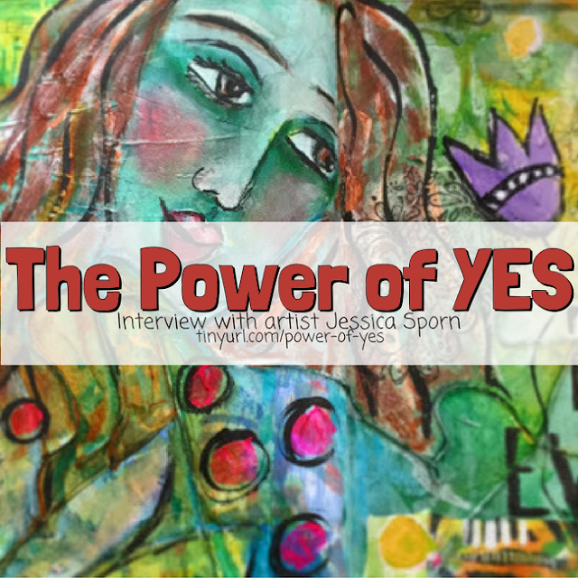 artist interview with Jessica Sporn http://schulmanart.blogspot.com/2016/09/artist-chats-power-of-yes.html