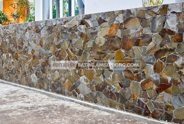 jual batu alam templek