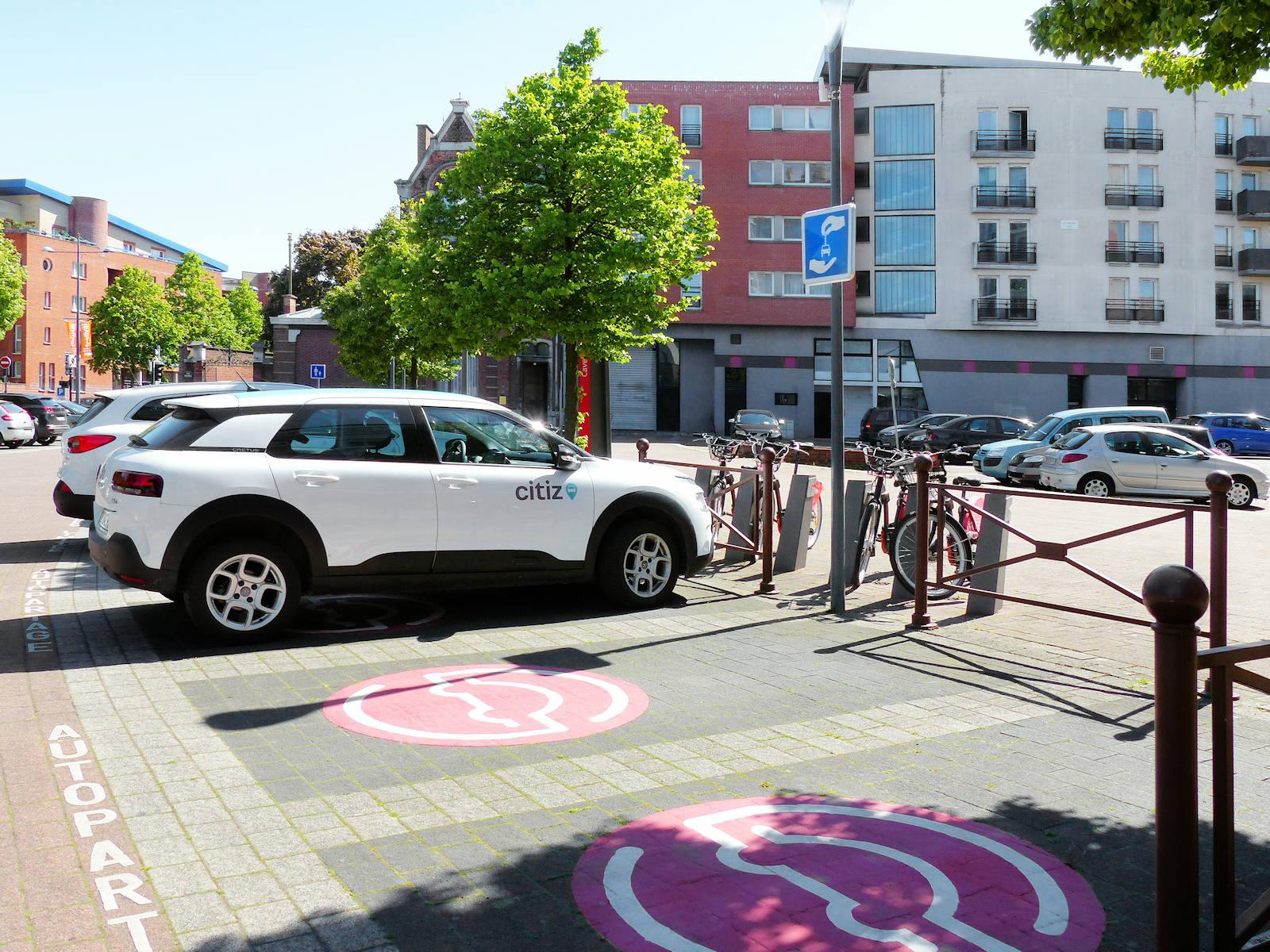 Citiz TG Centre - Autopartage Lille Arras Tourcoing