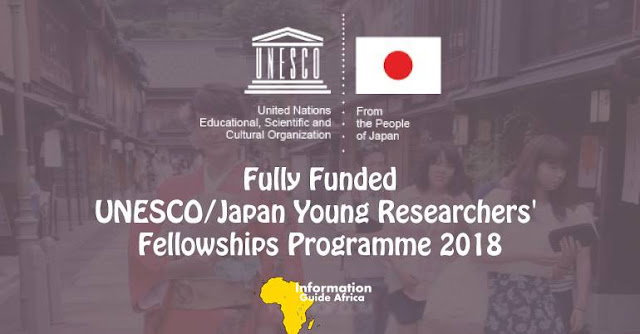 The UNESCO/Japan Young Researchers' Fellowships Programme 2018