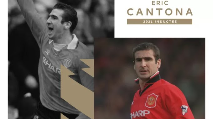 Cantona becomes the latest player to be inducted into EPL Hall of Fame