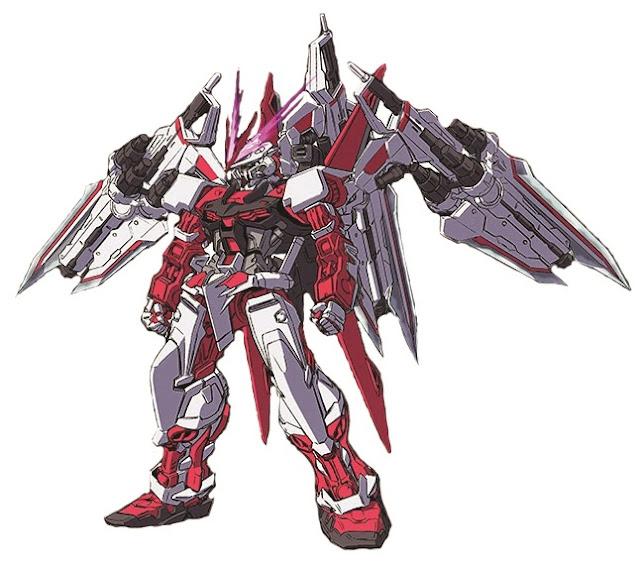 Gundam Recipe Rg 1 144 Gundam Astray Red Frame Variation