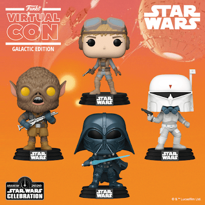 Star Wars Celebration 2020 Exclusive Pop! Vinyl Figures by Funko