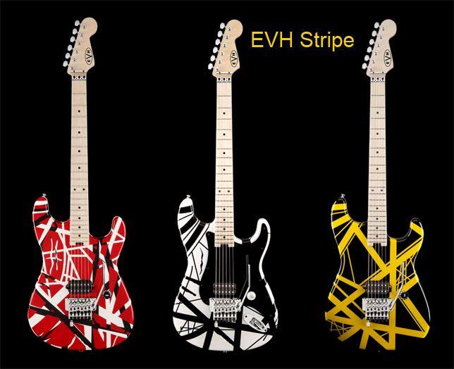 Guitarra Eléctrica Evh Stripe
