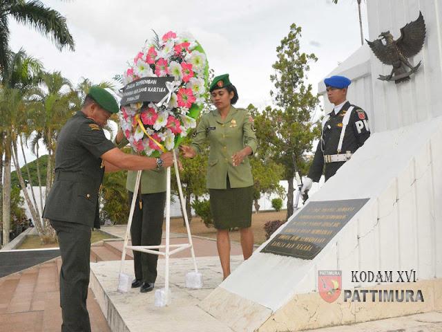 Suko Pranoto Pimpin Ziarah Peringati Hari Juang Kartika ke 73