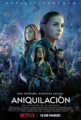 Annihilation 2018 DVD R1 NTSC Latino