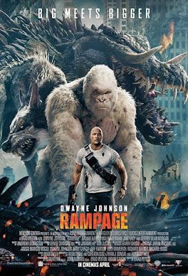 Rampage, Hancurnya Kota Karena Tiga Monster Yang Mengamuk