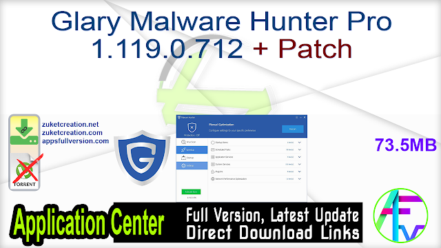 Glary Malware Hunter Pro 1.119.0.712 + Patch