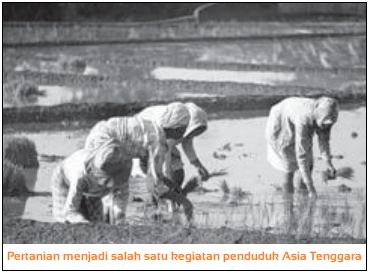 Macam-Macam Kegiatan Penduduk Asia Tenggara
