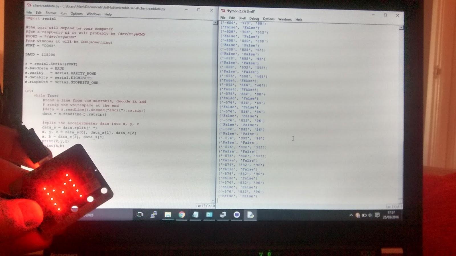 Python serial decode