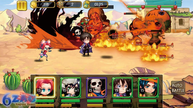 Game One Piece Android Terbaru Manga Clash : Warrior Arena