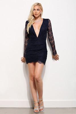 Vestidos Cortos con Encaje de moda