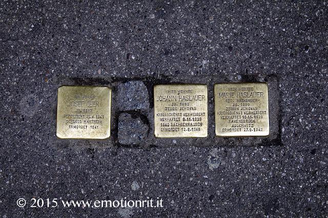 Salisburgo: pietre dell'inciampo