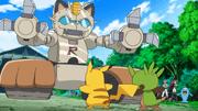 Capitulo 10 Temporada 17: ¡El Embrollo Del Mega Mega Meowth!