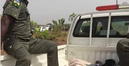 SEE How A Minister Of Nigeria Was Taken To The Mortuary