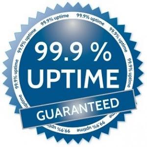 Garansi Uptime 99.9%