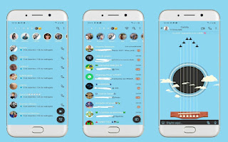 Guitar Music Theme For YOWhatsApp & Fouad WhatsApp By Leidiane
