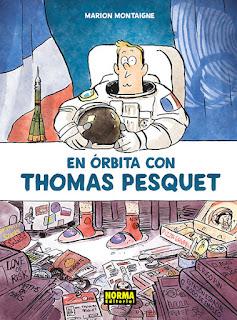 """""""En órbita con Thomas Pesquet"""", de Marion Montaigne."""