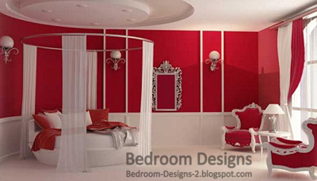 romantic bedroom design ideas for women with round bed curtain Bedroom Decorating Ideas Small Bedroom Design Ideas
