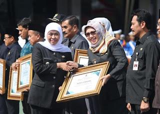 Tata Kelola Transportasi Baik, Lumajang Raih Penghargaan dari Gubernur Jatim