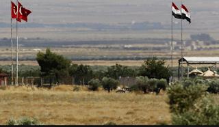 إنتشار الجيش السوري عبر الحدود مع تركيا