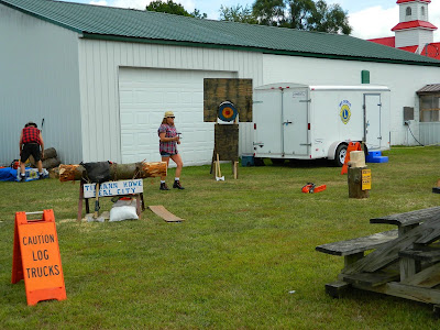timber show at Sumner Daze Festival