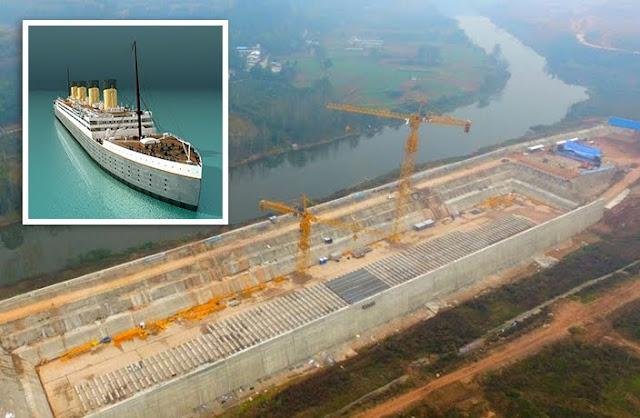 China Bakal Menggemparkan Dunia Dengan Rencana Membangun Sebuah Replika Kapal Titanic