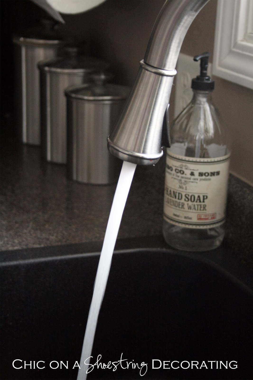 $300 Pfister Faucet Giveaway at Chic on a Shoestring Decorating blog!  Click link to enter: http://chiconashoestringdecorating.blogspot.com/2014/01/300-pfister-faucet-giveaway.html