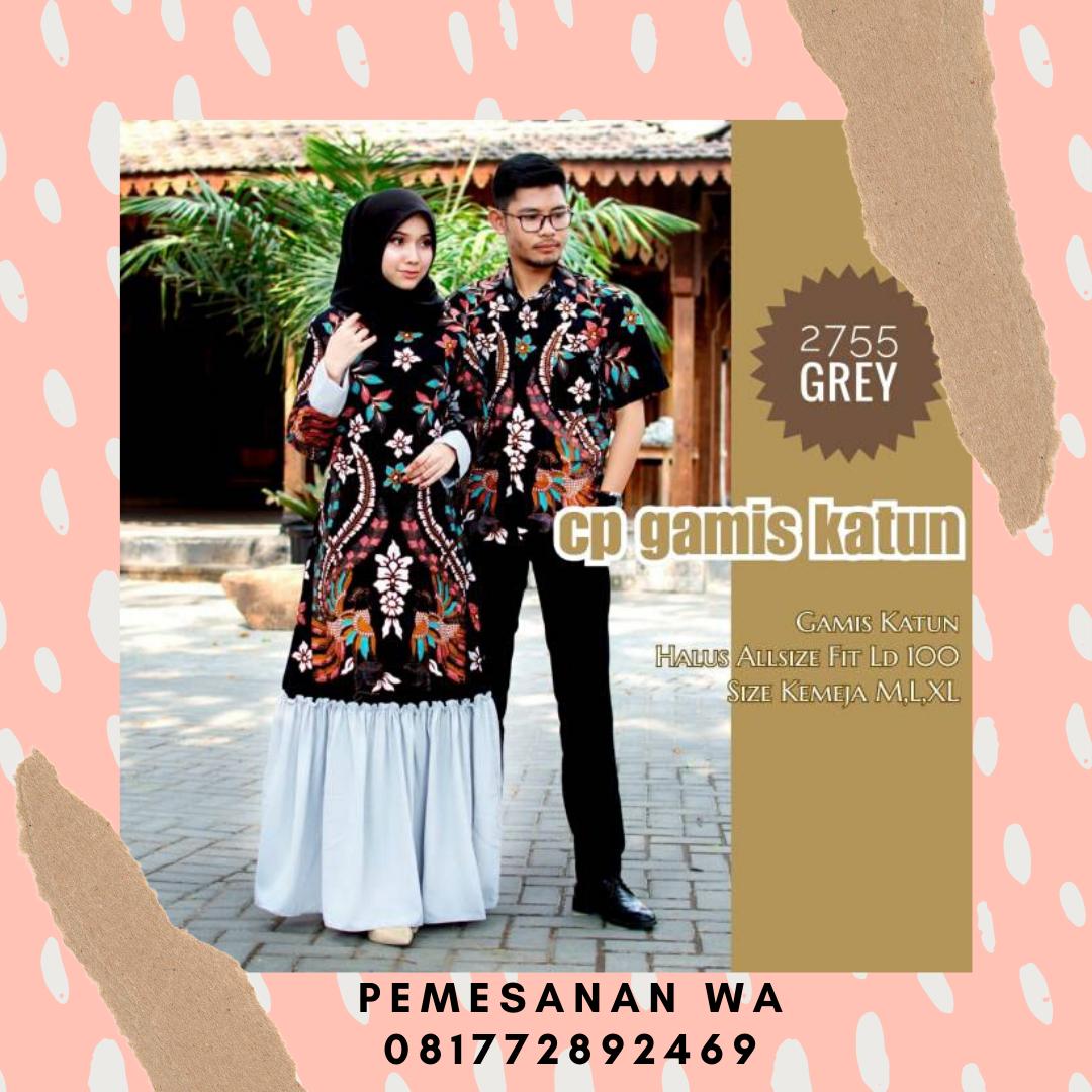 rothtrabalhosmanuais: Model Baju Gamis Batik Couple Sarimbit