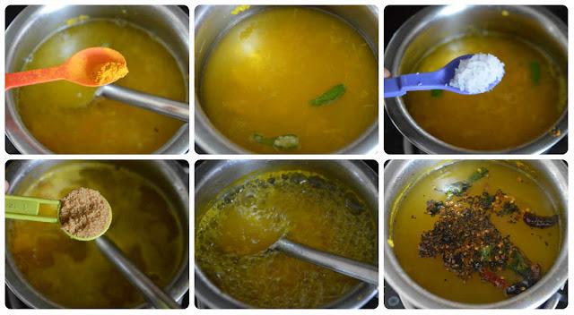 Raw Mango Rasam/Maavinakayi Appe huli Saaru