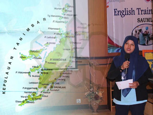 Nurul Fitri Purwadi Nilai Metode Bahasa Inggris SD di Tanimbar Kurang Tepat