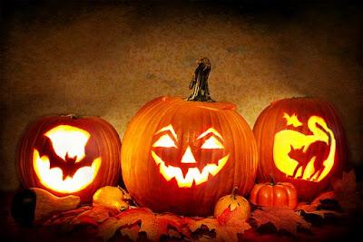Lantern pumpkin halloween