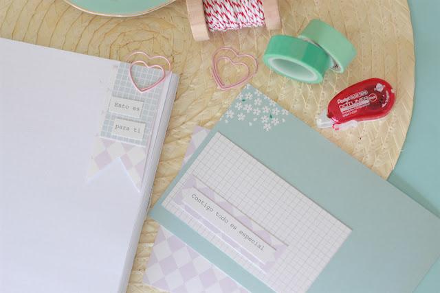 DIY: tarjetas bonitas con nuestra nueva colección de papeles