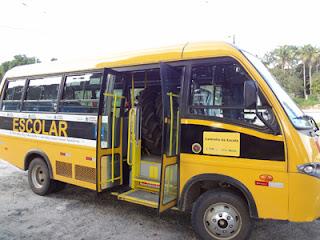 Ônibus escolares de Picuí, Frei Martinho, Baraúna, Nova Palmeira e Pedra Lavrada, serão vistoriados neste sábado (14)