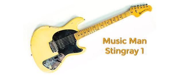 Guitarra Music Man Stingray 1