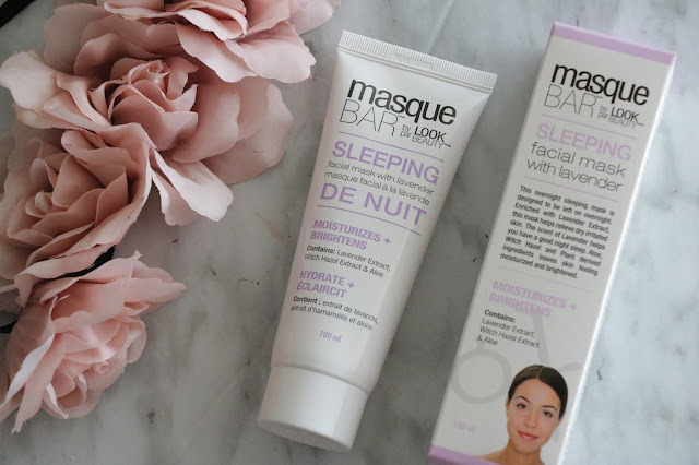 masque bar by look beauty review sleeping mask