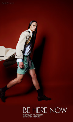 Lucas Kittel in 'Be Here Now' by PremaSurya for Fashionisto